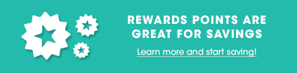 Save with rewards points