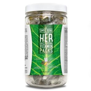 Simple Being Her Daily Personal Vitamin Pack