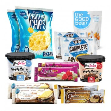 Snack Attack Value Bundle including Quest Bar and Lenny & Larry's Complete Cookies at Bulu Box