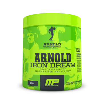Muscle Pharm Arnold Schwarzenegger Iron Dream | Bulu Box - sample superior vitamins and supplements