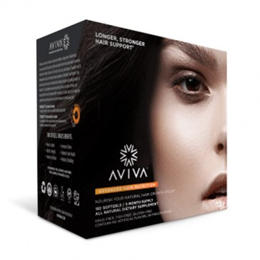 Aviva Advanced Hair Nutrition 90 Day Supply | Bulu Box - sample superior vitamins and supplements