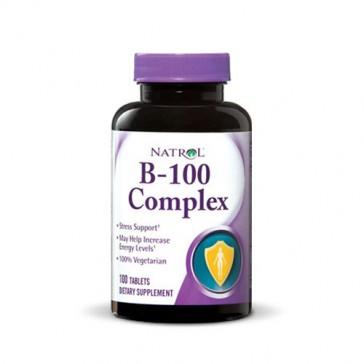 Natrol B-100 Complex   Bulu Box - sample superior vitamins and supplements