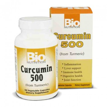 Bio Nutrition Curcumin 500 | Bulu Box - Sample Superior Vitamins and Supplements