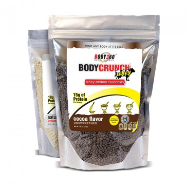 Body360 BodyCrunch Whey Protein Crunchies | Bulu Box - sample superior vitamins and supplements