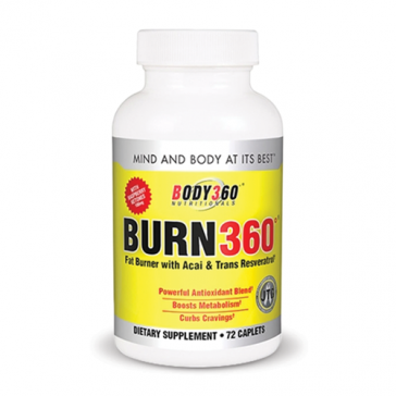 Body360 Nutritionals Burn360 | Bulu Box - sample superior vitamins and supplements