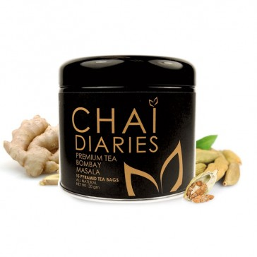 Chai Diaries Organic Bombay Masala Tea  | Bulu Box - Sample Superior Vitamins and Supplements