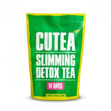Cutea Organic Slimming 14-Day Detox Tea | Bulu Box Sample Superior Vitamins and Supplements