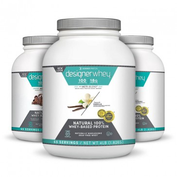 Designer Whey Protein 4lb - Flavor Group | Bulu Box - sample superior vitamins and supplements