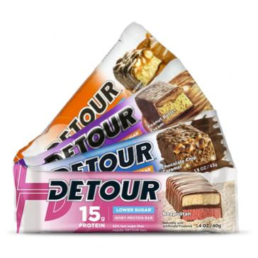 Detour Low Sugar Bars  | Bulu Box - sample superior vitamins and supplements