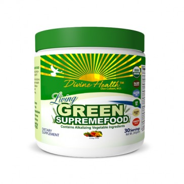 Dr. Colbert Divine Health Living Green Supremefood  | Bulu Box - sample superior vitamins and supplements