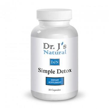 Dr J's Natural Simple Detox   Bulu Box - sample superior vitamins and supplements