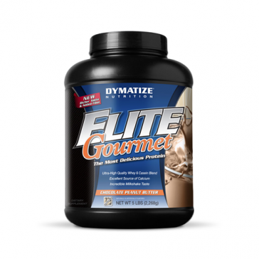 Dymatize Elite Gourmet Chocolate Peanut Butter | Bulu Box - sample superior vitamins and supplements