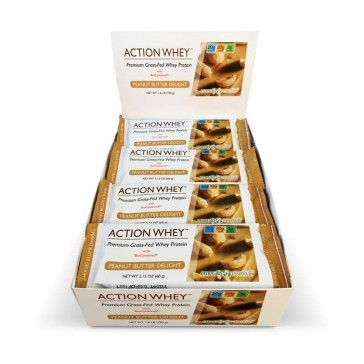 Action Whey Premium Grass-Fed Whey Protein Bar | Bulu Box - sample superior vitamins and supplements