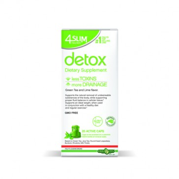 Erba Vita 4 Slim Trainer Detox Caps | Bulu Box - sample superior vitamins and supplements