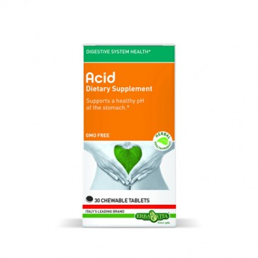 Erba Vita Acid Chewable Tablets   Bulu Box - sample superior vitamins and supplements
