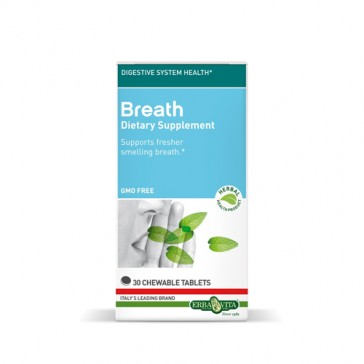 Erba Vita Breath Chewable Tablets | Bulu Box - sample superior vitamins and supplements