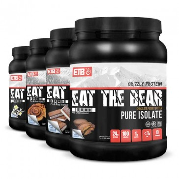 Eat the Bear Grizzly Whey Pure Isolate Protein | Bulu Box - Sample Superior Vitamins and Supplements
