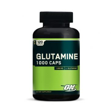 Glutamine 1000 Caps - 120 Count | Bulu Box - Sample Superior Vitamins and Supplements