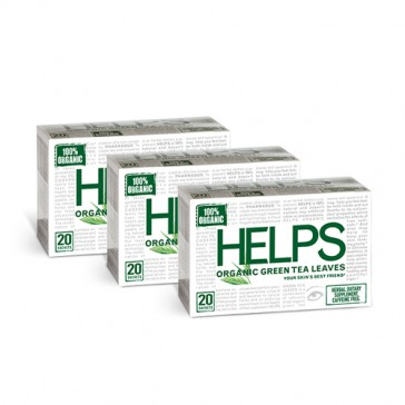 Helps Tea Organic Green Tea | Bulu Box - sample superior vitamins and supplements