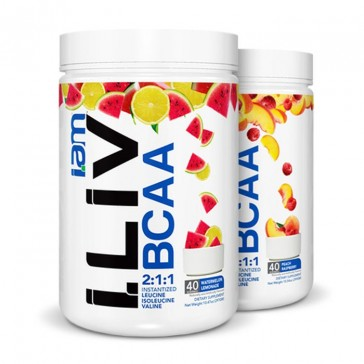 IAM Nutritionals - i.LIV BCAA | Bulu Box - sample superior vitamins and supplements