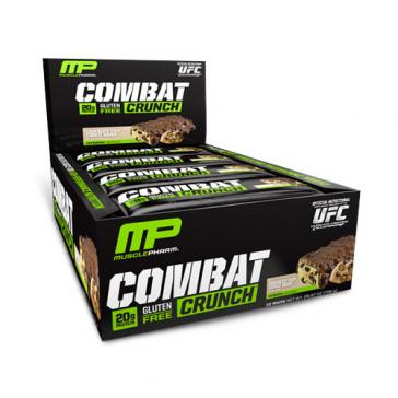 Muscle Pharm Combat Crunch Bars Chocolate Chip Cookie Dough | Bulu Box - sample superior vitamins and supplements