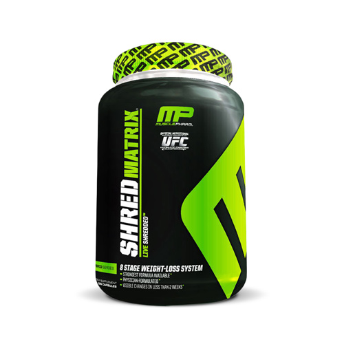 Muscle Pharm Shred Matrix | Bulu Box - sample superior vitamins and supplements