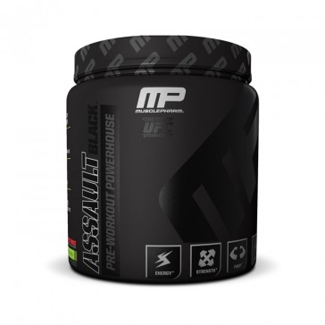 Muscle Pharm Assault Black | Bulu Box - sample superior vitamins and supplements