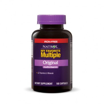 Natrol My Favorite Multiple Iron Free | Bulu Box - sample superior vitamins and supplements