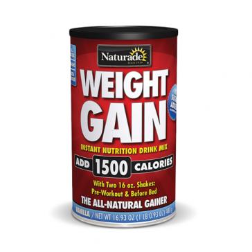 Naturade Sugar Free Weight Gain - Vanilla | Bulu Box - sample superior vitamins and supplements