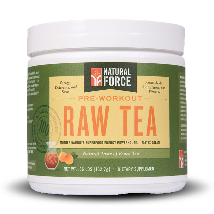 Natural Force Raw Tea | Bulu Box Sample Superior Vitamins and Supplements