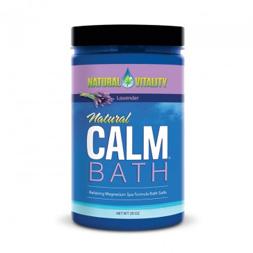 Natural Calm Bath - Lavender   Bulu Box - sample superior vitamins and supplements