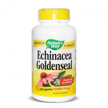Nature's Way Echinacea Goldenseal | Bulu Box - Sample Superior Vitamins and Supplements