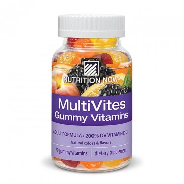 Nutrition Now MultiVites Adult Gummy Vitamins | Bulu Box -  sample superior vitamins and supplements