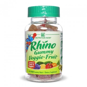 Nutrition Now Rhino Veggie-Fruit Bears | Bulu Box - sample superior vitamins and supplements