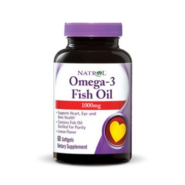 Natrol Omega-3 Fish Oil 1000mg | Bulu Box - sample superior vitamins and supplements