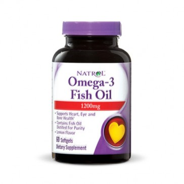Natrol Omega-3 Fish Oil 1200mg | Bulu Box - sample superior vitamins and supplements