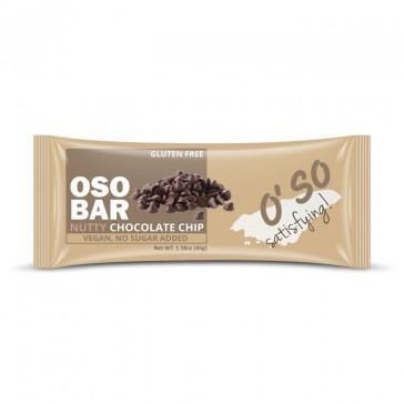 Oso Nutty Chocolate Chip Protein Bar | Bulu Box - sample superior vitamins and supplements
