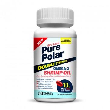 Pure Polar Omega-3 Shrimp Oil - Double Strength   Bulu Box - Sample Superior Vitamins and Supplements