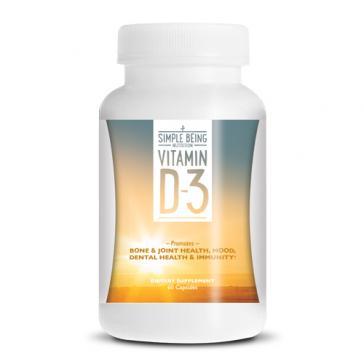 Simple Being Vitamin D-3 | Bulu Box - sample superior vitamins and supplements