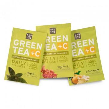 Sencha Naturals Green Tea + C | Bulu Box - sample superior vitamins and supplements