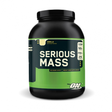 Serious Mass Vanilla 6lb   Bulu Box - Sample Superior Vitamins and Supplements