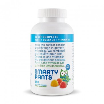 Smarty Pants All-in-One Adult Gummy Multivitamin + Omega 3 + Vitamin D3 | Bulu Box - sample superior vitamins and supplements