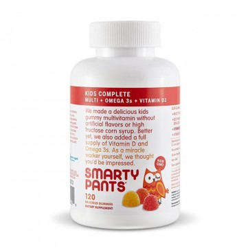 Smarty Pants All-in-One Kids Gummy Multivitamin + Omega 3 + Vitamin D3 | Bulu Box - sample superior vitamins and supplements
