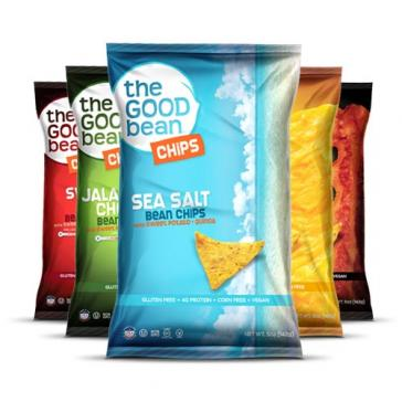 The Good Bean Chips with Sweet Potatoes & Quinoa Variety Pack | Bulu Box Sample Superior Vitamins and Supplements