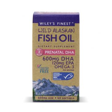 Wiley's Finest Prenatal DHA | Bulu Box - sample superior vitamins and supplements