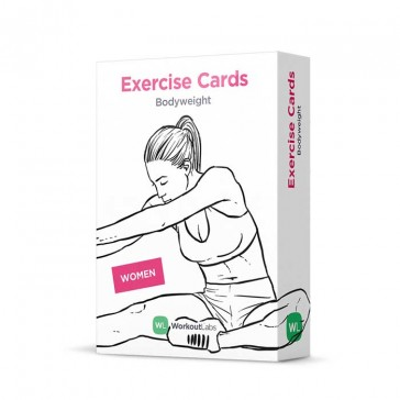 Workout Labs Bodyweight Exercise Cards | Bulu Box Sample Superior Vitamins and Supplements