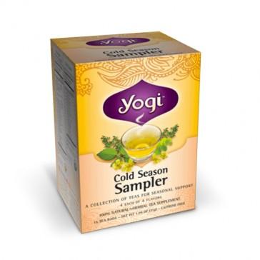 Yogi Cold Season Tea Sampler | Bulu Box - sample sup