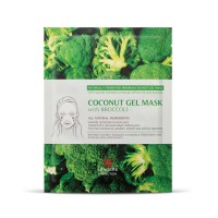 Leaders Cosmetics Coconut Gel Mask with Broccoli