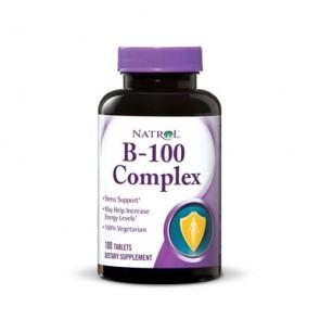 Natrol B-100 Complex | Bulu Box - sample superior vitamins and supplements