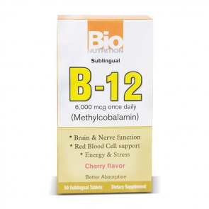 Bio Nutrition Sublingual B-12